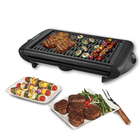 best indoor table top electric grills indoor electric teppanyaki table top bbq barbecue grill