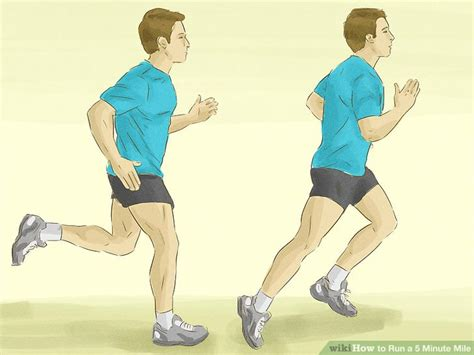 run   minute mile  steps  pictures wikihow