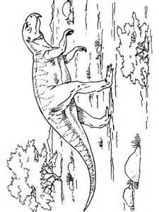 coloriage psittacosaure dinosaure ceratopsien