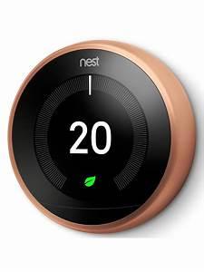 Google Nest Learning Thermostat  3rd Generation At John