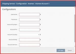 Aramex Linnworks Integration App User Manual
