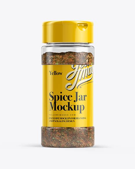 Yellow adjust photoshop action 21218653. Spice Mix Jar Mockup in Jar Mockups on Yellow Images ...