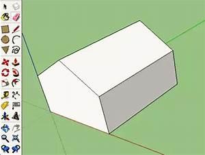 Haus Strichzeichnung Einfach : 123 sketchup anf nger modellieren in 3d ~ Watch28wear.com Haus und Dekorationen
