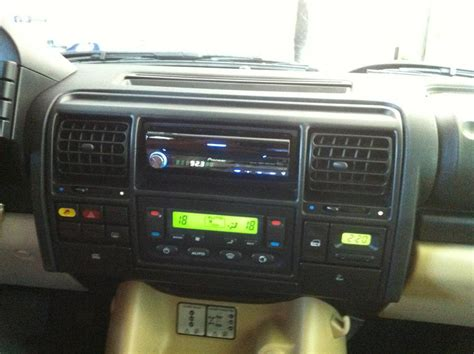 double din navigation radio    land rover forums