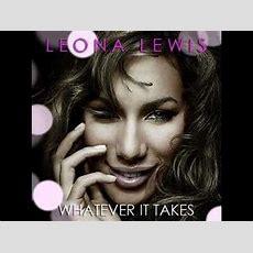 Leona Lewis Whatever It Takes Instrumental Karaoke Youtube
