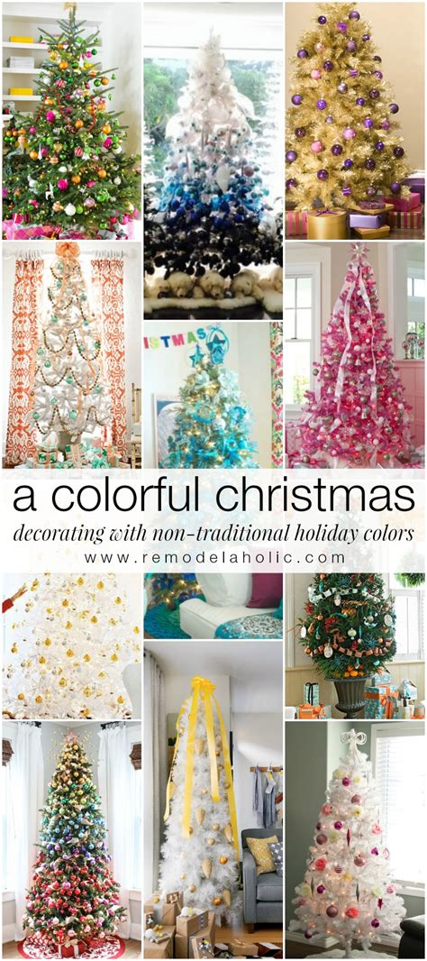 I thought with my french marie claire idees theme, i should do a classic, elegant french dinner. Remodelaholic | Decorating with Non-Traditional Christmas ...