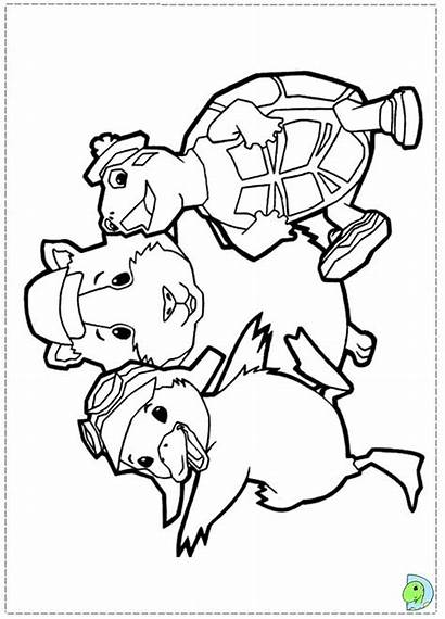 Pets Wonder Coloring Dinokids Clipart Library Fofos