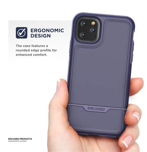 iphone pro rebel case purple encased