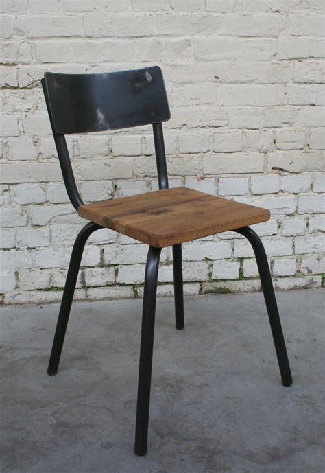 chaises metal chaise cec 39 ch003 giani desmet meubles indus bois métal