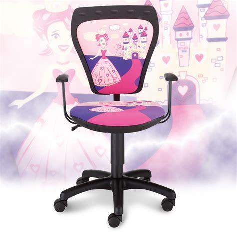 chaise de bureau princesse enfants de chaise de bureau chambre princesse de fille