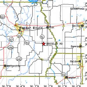 broseley missouri mo population data races housing