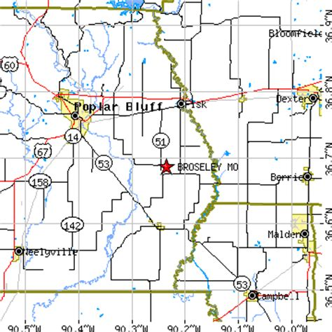 le mo zip code broseley missouri mo population data races housing