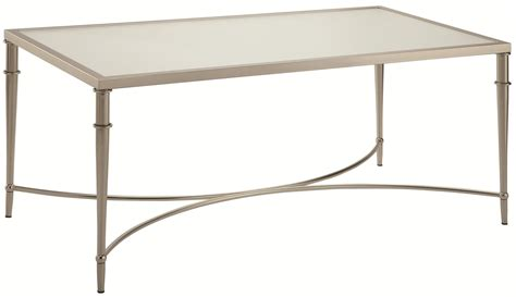 Silver And Glass Coffee Table  Home Design