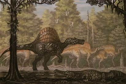 Spinosaurus Ouranosaurus Deviantart