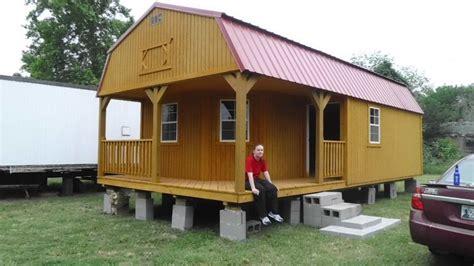 derksen deluxe lofted barn cabin floor plans derksen side lofted barn cabin interior view studio