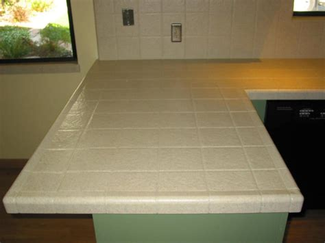 simulated stone finish on tile countertop yelp