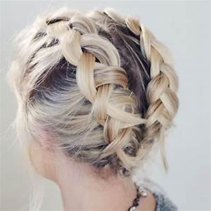 Tresse Cheveux Courts : 10 tresses parfaites pour les cheveux courts glamour ~ Melissatoandfro.com Idées de Décoration