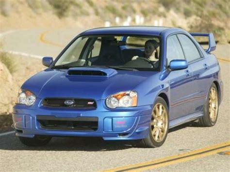 subaru impreza wrx sti models trims information