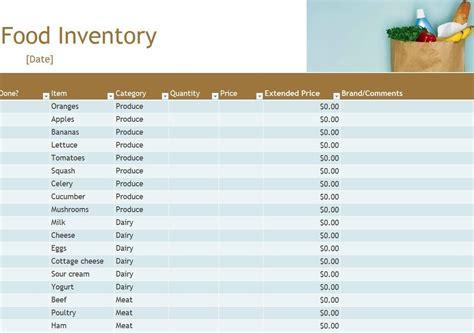 food pantry inventory spreadsheet laobing kaisuo