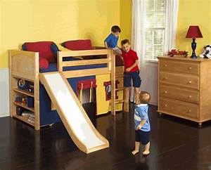 Kids Loft Bed With Slide PDF Woodworking