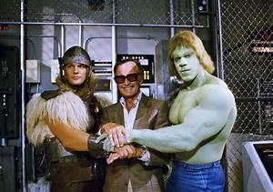 Stan Lee, Lou Ferrigno, Eric Kramer   Hero Complex ...