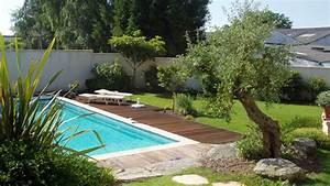 jardin et terrasse on pinterest pools petite piscine With amenagement de jardin avec piscine 3 paysage decors creations paysage decors