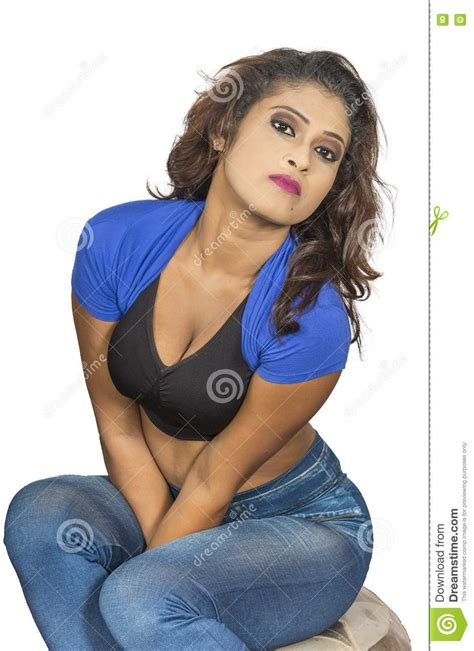 Srilankan Girls Closeup Stock Image Image Of Asian Image