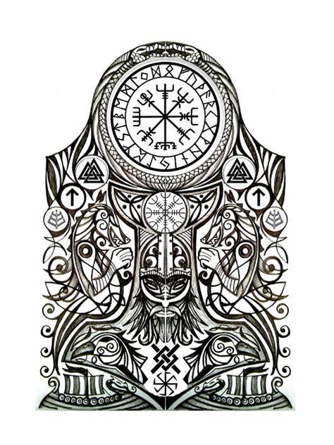 Norse Tattoo Designs Best 25 Viking Tattoos Ideas On Pinterest Viking Tattoo