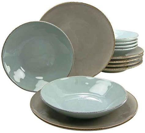 creatable geschirr bunt creatable tafelservice 187 oslo 171 12 tlg steingut antik look geschirr steingut geschirr