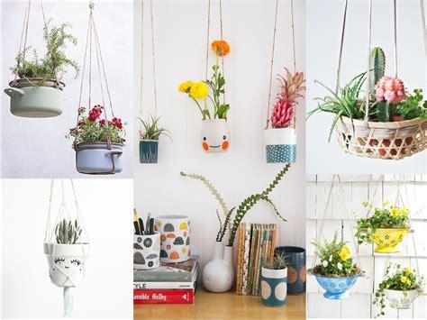 ideas de decoracion  plantas colgantes