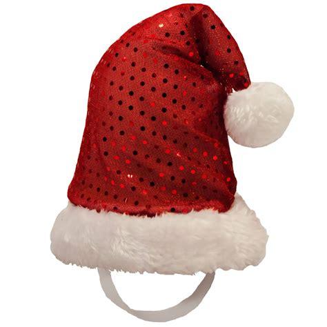 kyjen holiday led santa hat large entirelypets