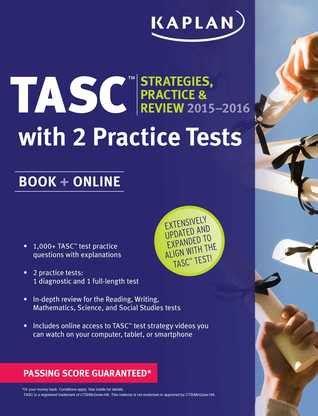 kaplan tasc   strategies practice  review