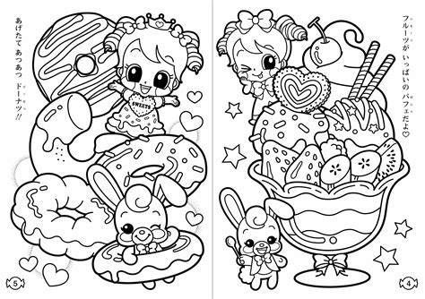 cute kawaii coloring pages  getcoloringscom