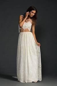 awesome crop top wedding gowns for girls weddings eve With crop top wedding dress