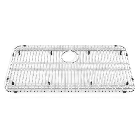 stainless steel kitchen sink racks american standard 8445 291500 075 prevoir bottom grid 8268