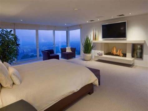 modern bedroom  tv designs