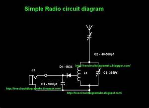 Free Circuit Diagrams 4u  Simple Radio Circit Diagram