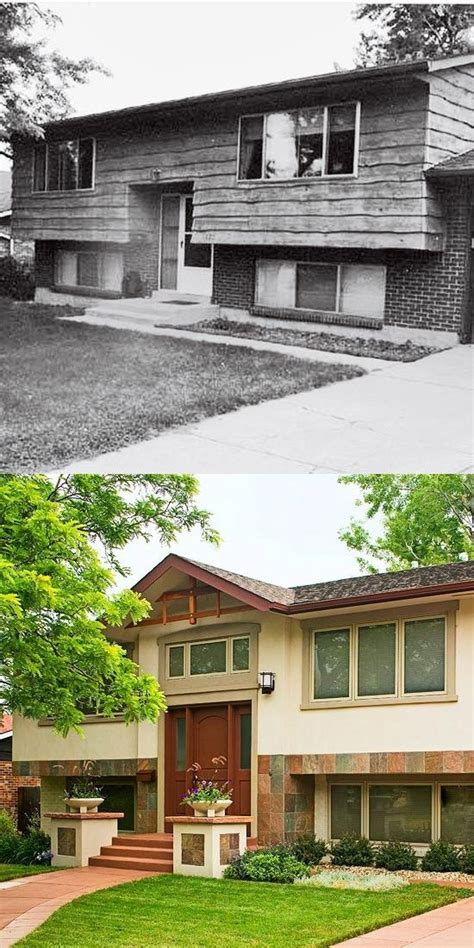 fresh split level house renovation split level homes before and after before after