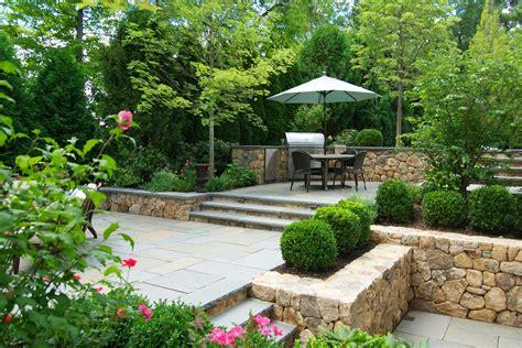 Landscape And Patio Design by A Blade Of Grass Boston Landscape Design Installation