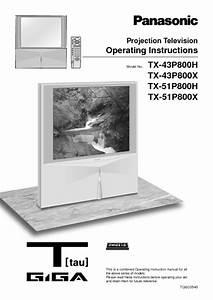 Tx-51p800x Manuals