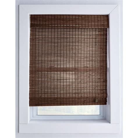Buy Woven Bamboo Roman Shade With Hidden Cord Online