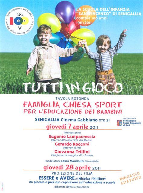 Cinema Gabbiano Senigallia Oggi La Scuola Materna Paritaria S Vincenzo Di Senigallia