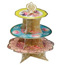 cupcake stand  tier tea party  blossom