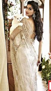 white indian bridal sari Indian Weddings: Trousseau by Soma Sengupta