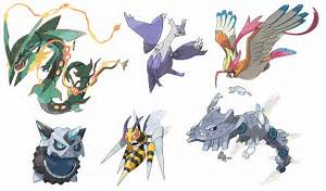 pokemon new mega evolutions images