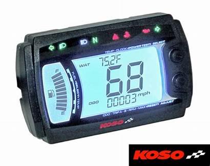 Speedometer Motorcycle Digital Koso Dashboard Multi Xr