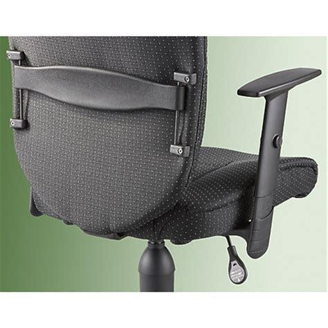 sealy posturepedic 174 task chair black 183980 office at sportsman s guide
