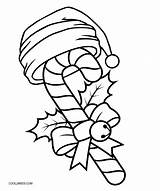Cane Candy Coloring Pages Printable Candyland Christmas Cool2bkids Getcolorings Template Land sketch template