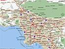 Map of Los Angeles California - TravelsMaps.Com