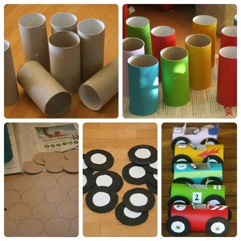 c 243 mo hacer coches de juguete caseros manualidades toddler crafts diy for y for